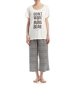 HUE® Mama Bear Pajama Set