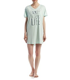HUE® Enjoy Life Sleepshirt
