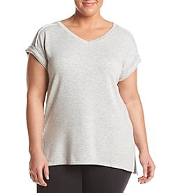 Calvin Klein Performance Plus Size Seamed Tee