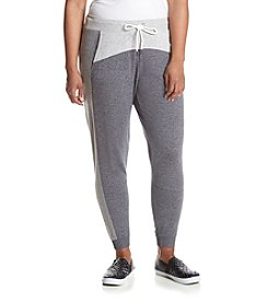 Calvin Klein Performance Plus Size Color Blocked Jogger Pants