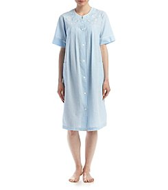 Miss Elaine® Snap Short Robe