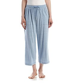 KN Karen Neuburger Chambray Capri Pants