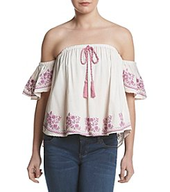 Living Doll® Puff Off-Shoulder Top