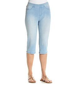 Breckenridge® Stretch Denim Crop Pants