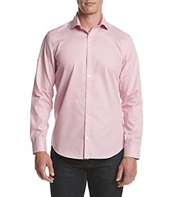 Calvin Klein Men's Infinite Cool Small Grid Dress Shirt