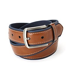 Tommy Hilfiger® Men's Blue Edge Dome Belt
