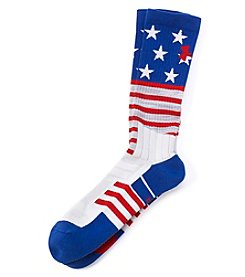 Under Armour® Men's Stars And Stripe Crew Socks