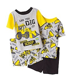 Nickelodeon® Boys' 4-10 Bob the Builder 4-Piece Shorts Set
