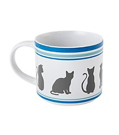 John Bartlett Pet Cat Silhouette Mug