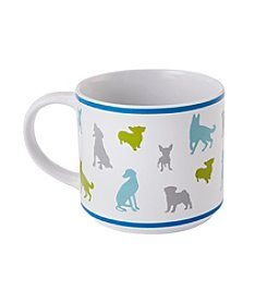 John Bartlett Pet Dog Silhouette Mug