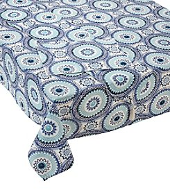 Living Quarters Geometric Medallion Table Linen Collection
