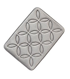 Living Quarters Flower of Life Pattern Blucore Foam Rug