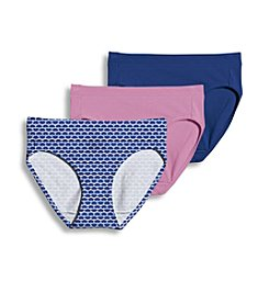 Jockey® Elance® Stretch Bikini Three Pack