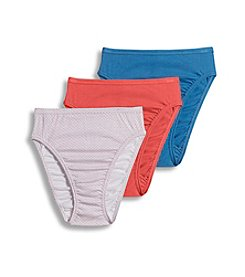 Jockey® Plus Size Elance® French Cut Three Pack