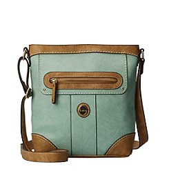 b.ø.c McAllister Mint Top Zip Crossbody