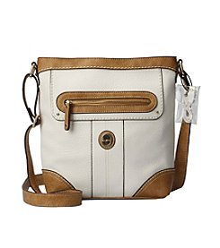 b.ø.c Mcallister White Top Zip Crossbody