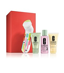 Clinique Clean Skin, Great Skin Set For Oilier Skin Type 3 And 4 (A $104 Value)