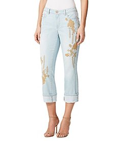 Miracle Jean® Promise Roll Up Crop Slimming Jeans