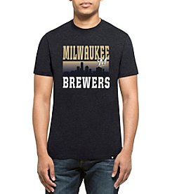 47 Brand MLB® Milwaukee Brewers Men's Skyline Short Sleeve Tee