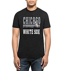 47 Brand MLB&Reg; Chicago Whitesox Mens Skyline Short Sleeve Tee