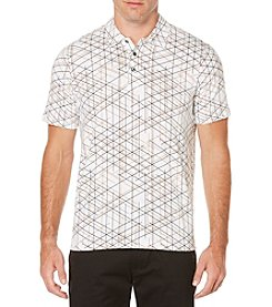 Perry Ellis® Men's Short Sleeve Printed Polo