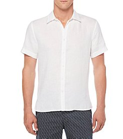 Perry Ellis® Men's Short Sleeve Button Down Linen Shirt