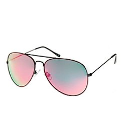Paradise Collection® Red Enamel Aviator Sunglasses