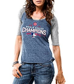 Majestic® MLB® Chicago Cubs Women's World Series 16 Champion Tee