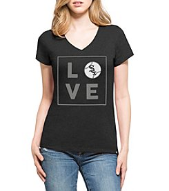 47 Brand MLB® Chicago White Sox Women's Club V-Neck Tee