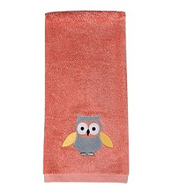 Saturday Knight, Ltd.® Owlet Embroidered Hand Towel