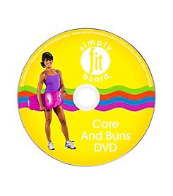 As Seen on TV Core & Buns Workout DVD
