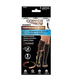 As Seen on TV Copper Fit Energy Compression Socks