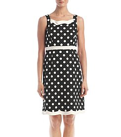 Kasper® Polka Dot Dress