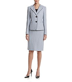 LeSuit® Two-Button Skirt Suit