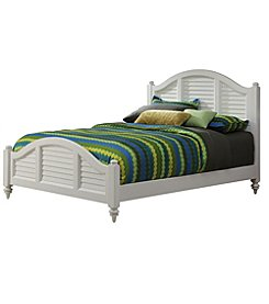 Home Styles® Bermuda Brushed White Bed