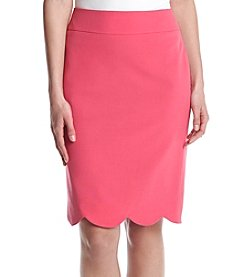 Nine West® Scalloped Slim Skirt