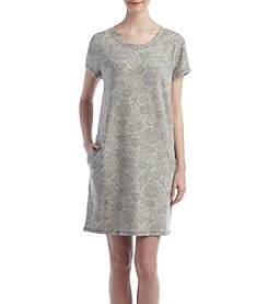 KN Karen Neuburger Medallion Printed Sleep Tunic