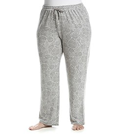 KN Karen Neuburger Plus Size Medallion Printed Pants