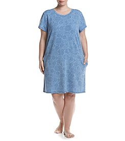KN Karen Neuburger Plus Size Knit Sleep Tunic