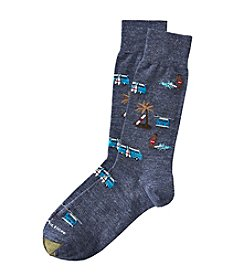 GOLD TOE® Men's Vintage Surf Dress Socks