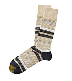 GOLD TOE® Men's Textsrtip Dress Socks