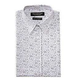 Nick Graham® Men's Floral Print Fitted Dress Shirt