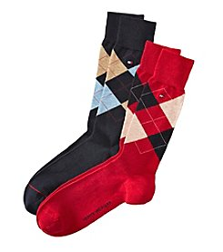 Tommy Hilfiger® Men's 2-Pack Argyle Socks