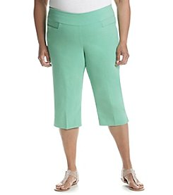 Alfred Dunner® Plus Size Bahama Bay Capris