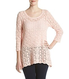 Jeanne Pierre® Open Stitch Sweater