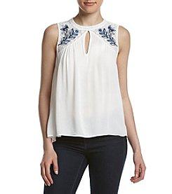 Eyeshadow® Embroidered Swing Tank