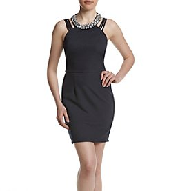Speechless® Necklace Sheath Dress