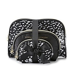 Tricoastal 3 Set Cosmetic Bags by Adrienne Vittadini