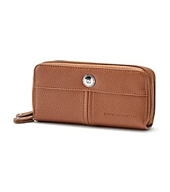 Stone Mountain® Ludlow Double Zip Around Clutch