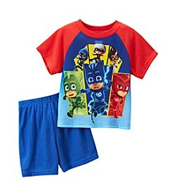 Nickelodeon® Boys' 2T-4T PJ Masks 2-Piece Shorts Set
